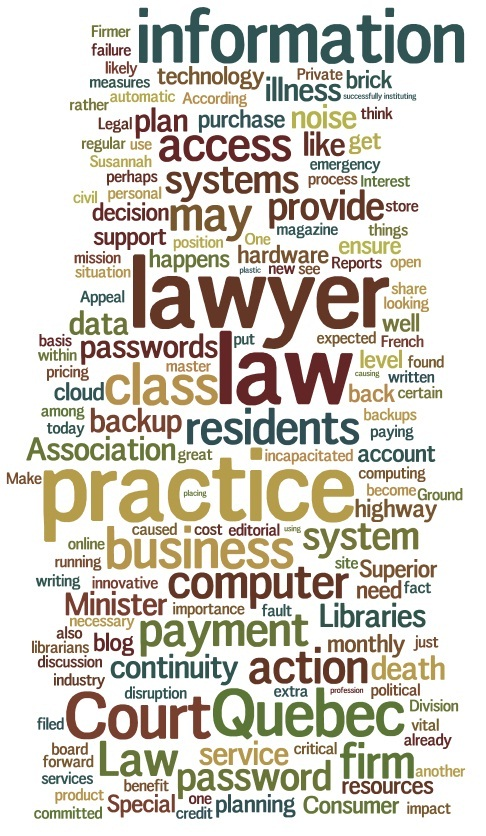 the words we use to talk about law